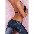 KETTY Legíny jeans CR-9037