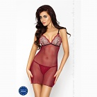 Whitney chemise red PASSION